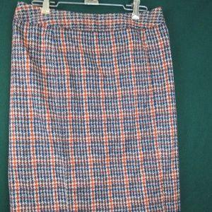 41 Hawthorn Houndstooth Skirt Retro